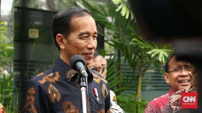 Presiden Joko Widodo menebak akhir serial Game of Throne bakal berakhir dengan sebuah pesan moral yang turut bermakna pada kondisi ekonomi global.