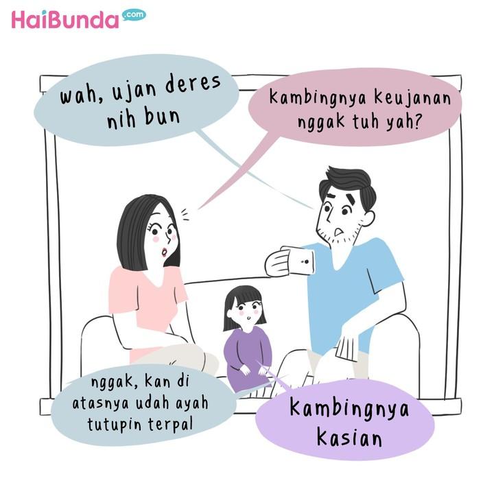Ini dia cerita seru keluarga bunda di komik ini saat Idul Adha. Cerita Idul Adha di keluarga Bunda seperti apa? Share yuk di komentar.