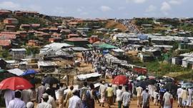 Etnis Rohingya Makin Merana Akibat Kamp Pengungsi Banjir