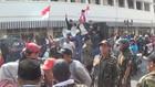 Massa Blokade Hotel Majapahit di Surabaya
