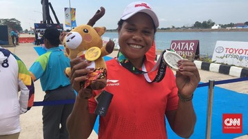 Since Lithhasova, Asian Games Silver Specialist from Papua
