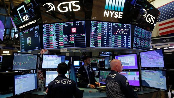 AS-China Dikabarkan Akan Berunding, Wall Street Naik Tipis