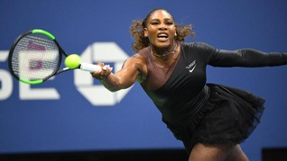 Kibasan Tutu Serena Williams Hapus Gejolak Baju Black Panther