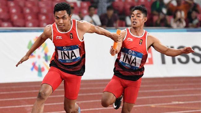 Lalu Muhammad Zohri mengaku merapal Surat Yasin di Alquran sebelum memulai lari lari estafet putra 4x100 meter Asian Games 2018.