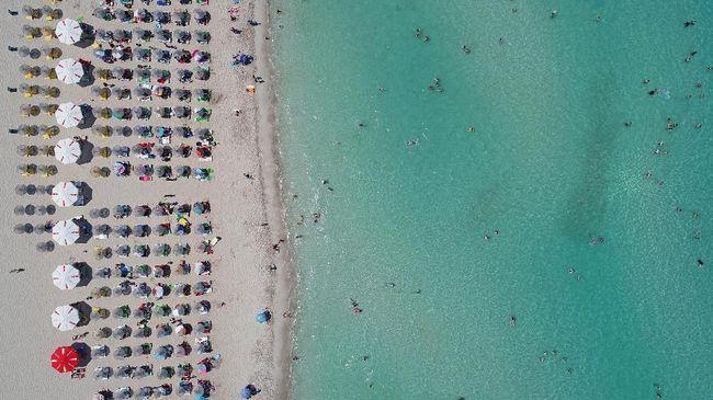 Ada alasan di balik foto pantai dan langit yang mendapat banyak 'likes' di Instagram.
