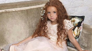 Punya Rambut Indah, Gadis Cilik Ini Seperti Boneka Deh