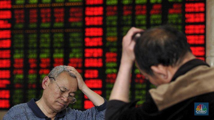 Parah! Indeks Shanghai Anjlok 2,4%, Hang Seng Nyungsep 1,91%