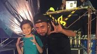 <p>Abirama juga seorang dancer cilik, lho. Ini foto bersama coachnya. (Foto: Instagram @abiramaputra)</p>