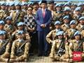 Jokowi Melepas Kontingen Garuda ke Kongo dan Lebanon