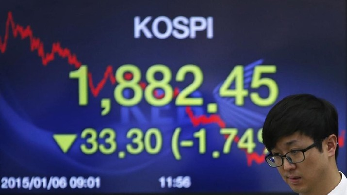 Wall Street Berdarah, Bursa Korsel & Australia Ikut Tenggelam