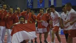 FOTO: Sepak Takraw Indonesia Bikin Sejarah di Asian Games