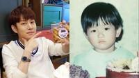 <p>Bedanya ultah Kim Hee-chul saat kecil dan saat ini apa ya? (Foto: Instagram/kimheenim)</p>
