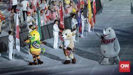 Penutupan Asian Games Diguyur Hujan, Asian Fest Tetap Ramai
