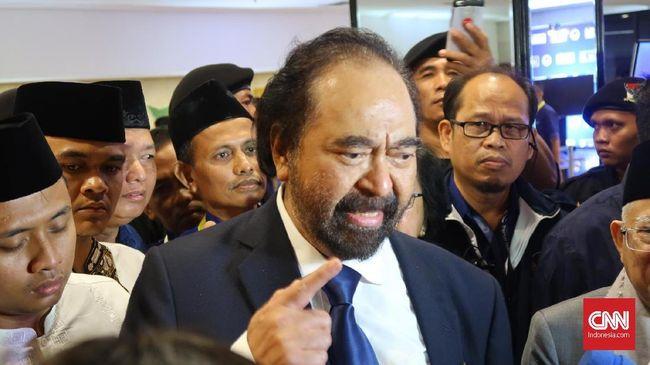 Ketua Umum Surya Paloh menyebut pemerintah yang sehat harus bisa menerima kritik. Namun, kritik terhadap pemerintah juga harus bersifat konstruktif.
