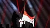Penutupan Asian Games 2018 di Stadion Utama Gelora Bung Karno, Minggu (2/9), berlangsung meriah dengan penampilan para pengisi acara.