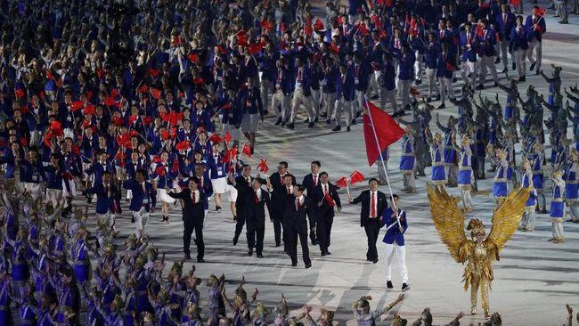 Kontingen China menjadi juara umum Asian Games 2018 setelah menempati peringkat pertama dalam klasemen akhir perolehan medali.