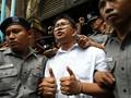 Mahkamah Agung Myanmar Tolak Banding Dua Jurnalis Reuters
