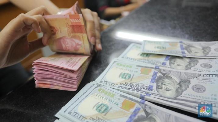 Pukul 09:00 WIB: Rupiah Melemah ke Rp 13.665/US$