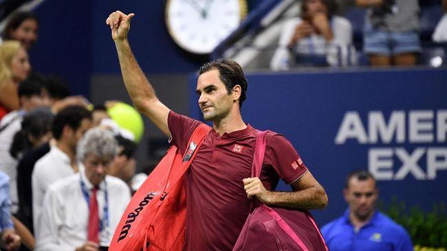 Roger Federer harus mengubur ambisi meraih gelar grand slam ke-21 setelah kalah dari John Millman di babak keempat Amerika Serikat Terbuka 2018.