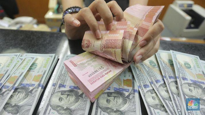 Pukul 09:00 WIB: Rupiah Kian Lemah di Rp 14.830/US$