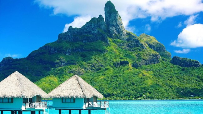 >Gerbang 'Pulau Honeymoon' Bora Bora Siap Dibuka 1 Mei