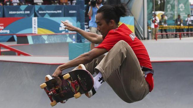 Pevi Permana, peraih medali perunggu Asian Games 2018 punya jalan berliku selama meniti karier, termasuk saat ia sempat menyembunyikan patah tangan.