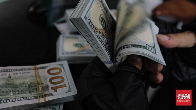 Rupiah menguat 0,03 persen ke posisi Rp14.520 per dolar AS pada perdagangan Senin (5/4) pagi.