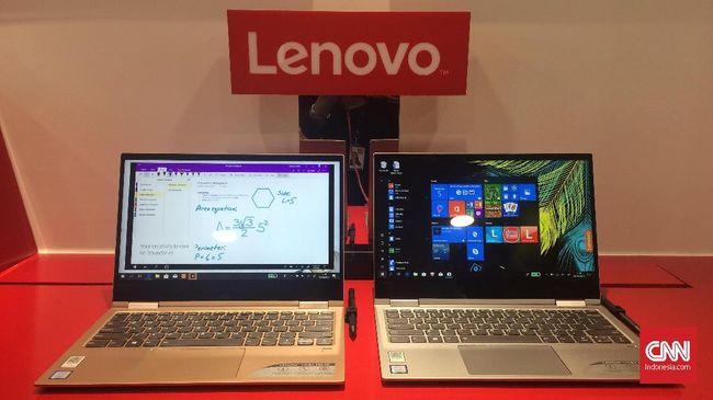 Lenovo Sebut Kuasai Seperempat Pasar Laptop di Indonesia