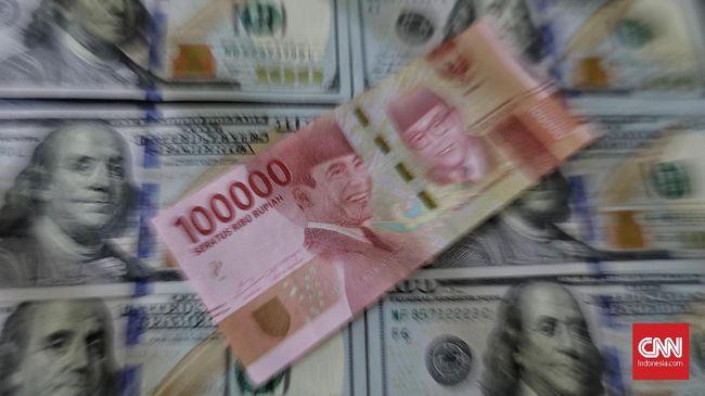 Nilai tukar rupiah menguat 0,02 persen ke Rp14.603 per dolar AS pada perdagangan pasar spot Rabu (14/4).