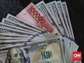 Rupiah Mendekati Rp15.200 per Dolar AS Awal Pekan Ini