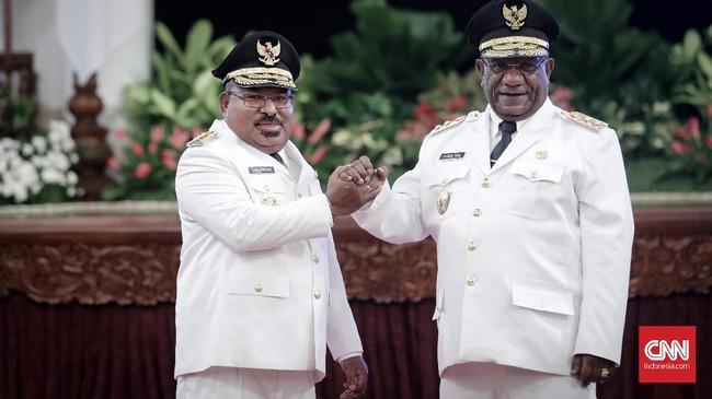 Sekda Dance Yulian Flassy Kini Jabat Plh Gubernur Papua