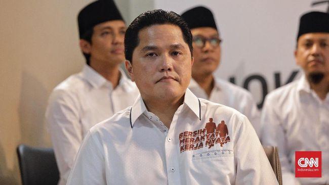 Ketua Tim Kampanye Nasional (TKN) Jokowi-Ma'ruf Amin, Erick Thohir berkonsultasi dengan Bawaslu soal batasan dalam kampanye.