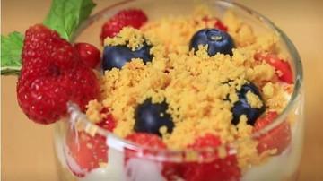 Resep Jar Cheese Cake dari Remahan Kue