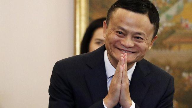 Pendiri grup usaha Alibaba, Jack Ma, yang diduga hilang muncul dalam telekonferensi dengan sejumlah guru.