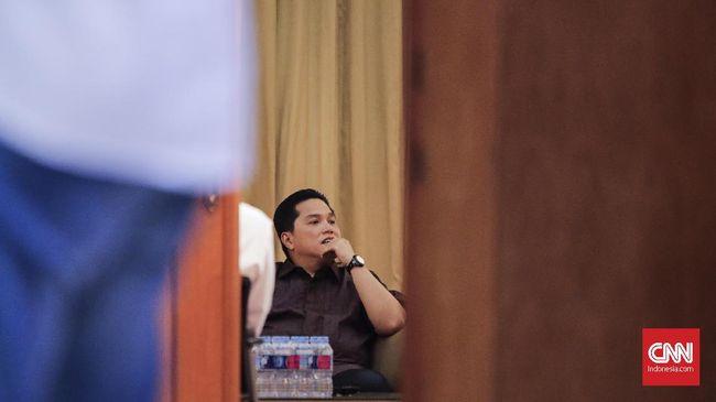 Erick Thohir akan menghentikan rencana pembentukan super holding BUMN yang pernah dijanjikan Jokowi saat kampanye Pilpres.
