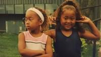 <p>Naomi Osaka sudah berlatih tenis sejak kecil dengan kakaknya. (Foto: Instagram @naomiosakatennis)</p>