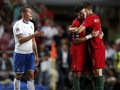FOTO: Timnas Portugal Tekuk Italia Tanpa Ronaldo