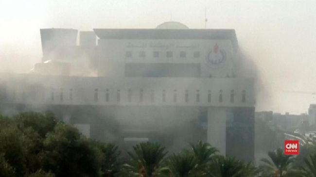 Kementerian Luar Negeri Libya Diserang, Tiga Orang Tewas