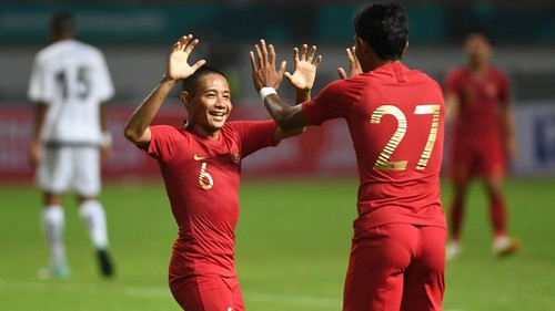 Indonesia Ungguli Mauritius 1-0