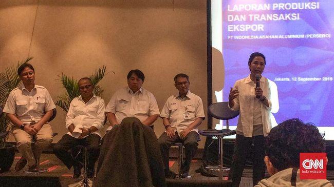 Menteri BUMN Rini Soemarno meminta holding BUMN tambang untuk melakukan hilirisasi tambang supaya ekspornya memberi nilai tambah besar pada ekonomi.