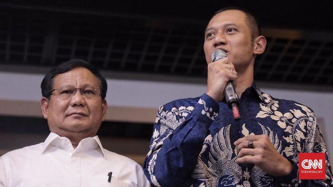 Capres Prabowo Subianto dan Komandan Kogasma AHY dijadwalkan berkampanye terbuka bersama di lapangan latihan Persib, di Bandung, Jawa Barat, Kamis (28/3).