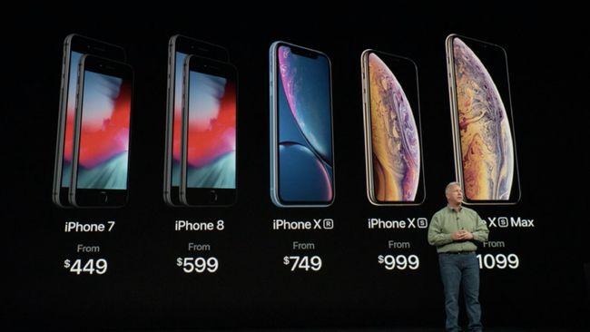 5 Perbandingan Iphone Anyar Apple Xs Xs Max Dan Xr