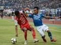 Babak Pertama: Borneo FC Tahan Imbang Persib di Liga 1