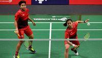 Greysia/apriyani Lanjut Ke Semifinal, Praveen/melati Tumbang
