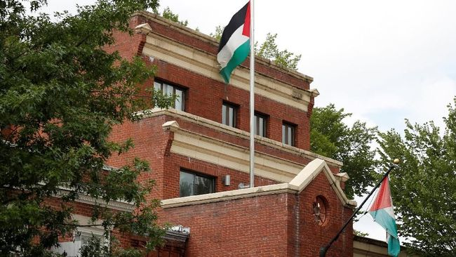 Kantor perwakilan Palestina di Washington resmi ditutup atas permintaan pemerintah Amerika Serikat di bawah komando Presiden Donald Trump, Kamis (13/9).