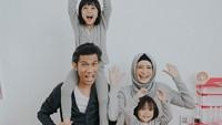 <p>Bahagia selalu ya Tria dan keluarga. (Foto: Instagram/dhaturembulan)</p>
