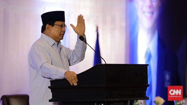 Prabowo meminta semua pihak merasakan sebagai satu keluarga besar NKRI. Dengan begitu, seluruh rakyat akan melihat persoalan bangsa jadi masalah keluarga.