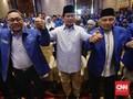 Jelang Debat, Prabowo Diskusi dengan Zulkifli Hasan