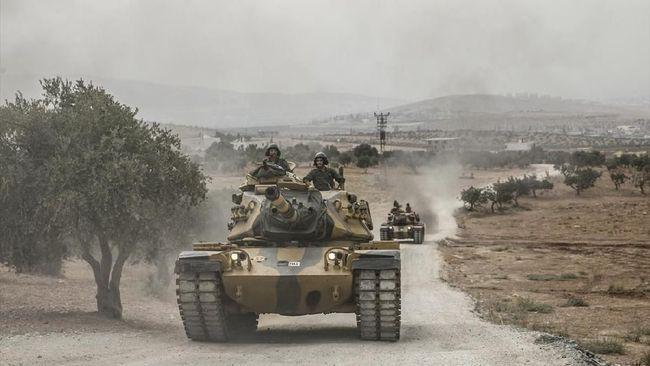 Militer Turki mengirim pasukan tambahan ke Provinsi Idlib, Suriah, dalam upaya negara itu mencegah serangan pasukan Presiden Bashar al-Assad yang dibantu Rusia.