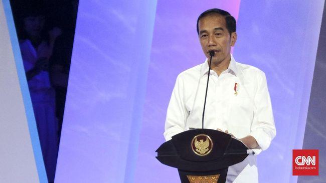 Presiden Joko Widodo mengibaratkan kondisi ekonomi global yang penuh kompetisi layaknya serial Game of Thrones.